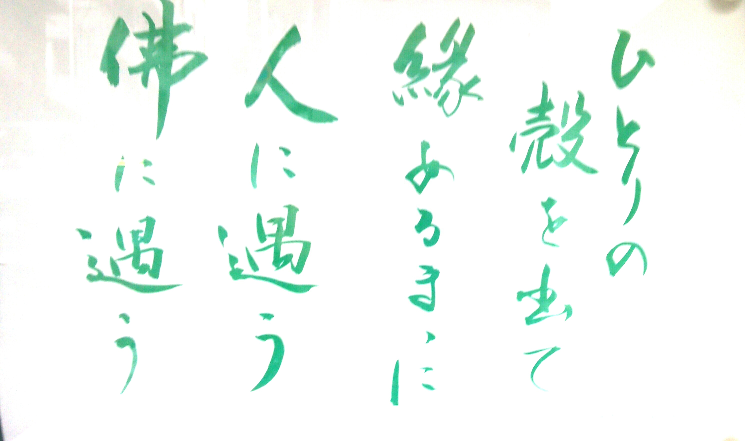 2016春彼岸 掲示板